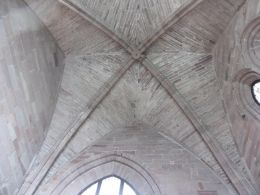 Vaulted Ceiling of the Sacristy