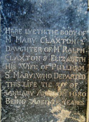 Mary Claxton