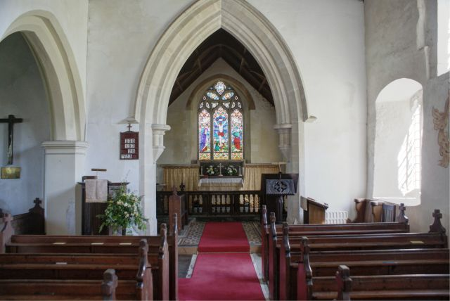 view towards Chancel